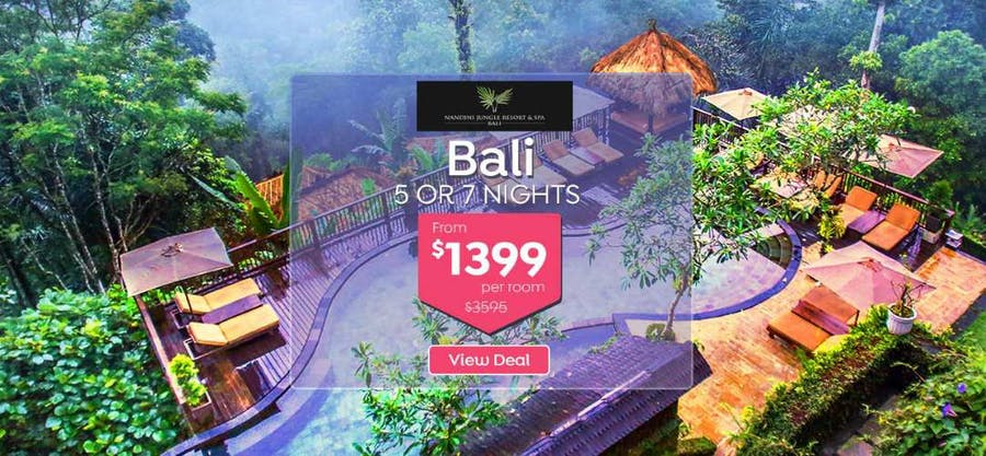 61 Off 5 Nights At Bali Jungle Resort Just 1 399 For Entire